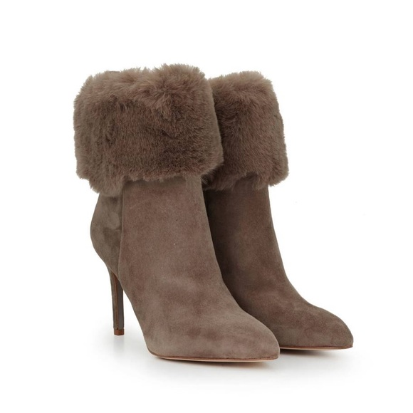 7d6b3e86ad903 Sam Edelman Oleana Fur Stiletto Boot